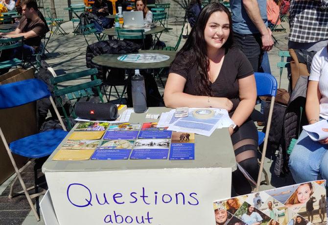 Duke students who support Israel respond to Israel Apartheid Week display